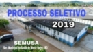 Prefeitura abre edital para Processo Seletivo Simplificado 2019 na área da saúde