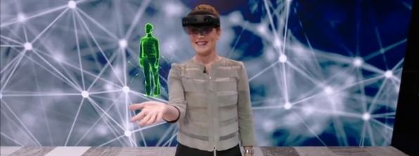 Holograma da Microsoft traduz conversas para outros idiomas