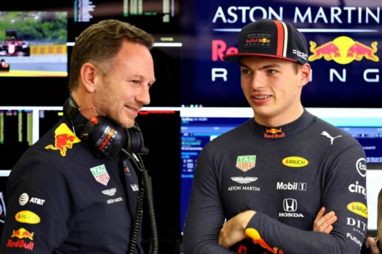 Chefe da RBR não economiza elogios para Max Verstappen: