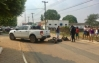 Monte Negro: Idoso colide na traseira de camionete no centro da cidade, em RO