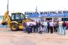 Prefeitura de Monte Negro recebe retroescavadeira do Deputado Lúcio Mosquini, em RO