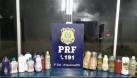 Em Ariquemes, PRF prende dupla de equatorianos com 18 quilos de cocaína