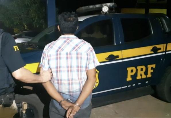 PRF cumpre mandando de prisão no Município de Porto Velho