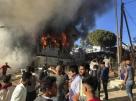 Incêndio em campo de migrantes superlotado na Grécia deixa mortos