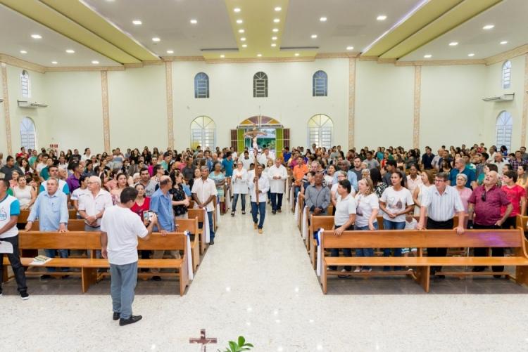 Lançamento do Livro do Padre Paulo - Paróquia São José