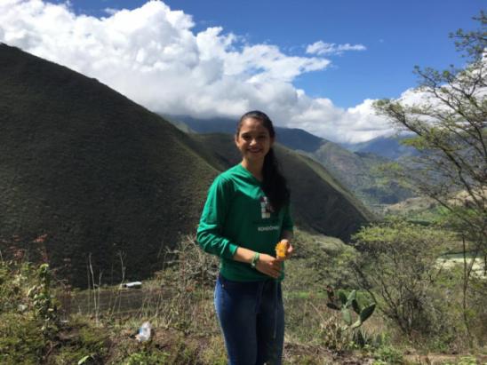 Acadêmica do Campus Ariquemes realiza mobilidade estudantil na Colômbia