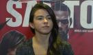 Cláudia Gadelha revela lesão no tornozelo e saída de luta no UFC Washington