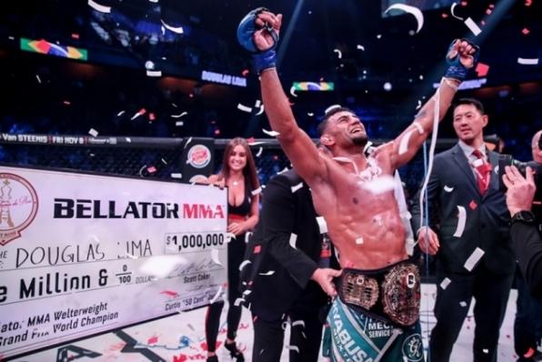 Douglas Lima bate Rory MacDonald, reconquista cinturão do Bellator e fatura R$ 4 milhões