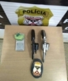 POLICIA CIVIL PRENDE HOMEM COM ARMAS E DROGA EM MOTEL DE MACHADINHO D'OESTE