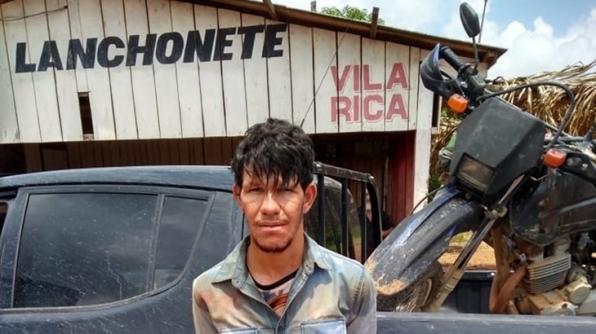 POLÍCIA CIVIL PRENDE HOMEM NA REGIÃO DO NÚCLEO DE SÃO MARCOS, ACUSADO DE ROUBO DE MOTOCICLETAS