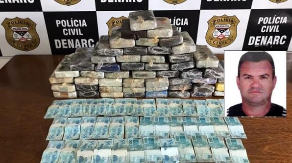 POLÍCIA CIVIL PRENDE TRAFICANTE COM DROGA AVALIADA EM MAIS DE R$ 1 MILHÃO EM RO