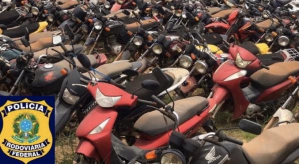No mês de dezembro, PRF em Rondônia realiza leilão de veículos
