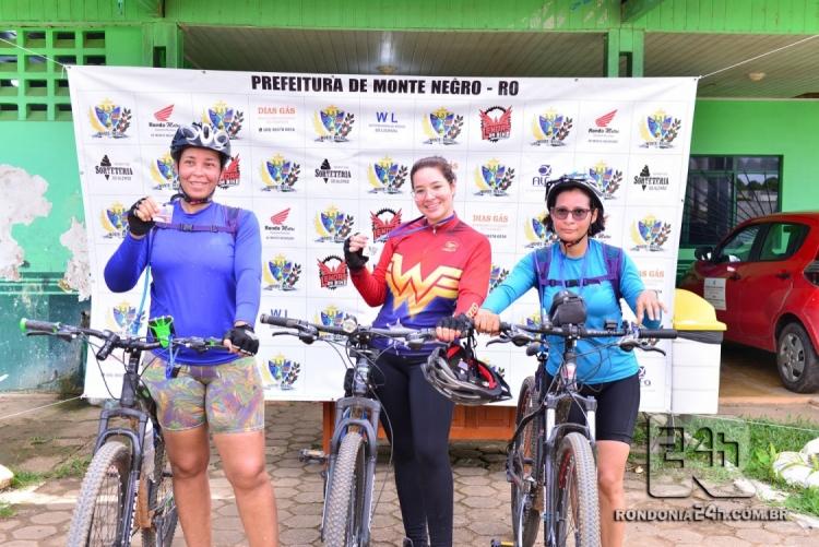 2º Passeio Ciclístico no 28º Aniversário de Monte Negro - FOTOS