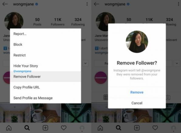 Evitando stalkers! Instagram testa opção de remover seguidores