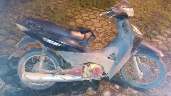 PM recupera motoneta em Rio Crespo