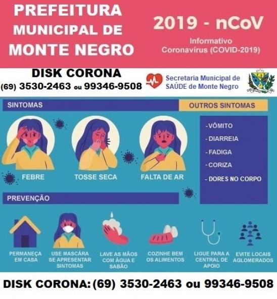 Semusa lança DISK CORONA para atendimento á população de Monte Negro, RO
