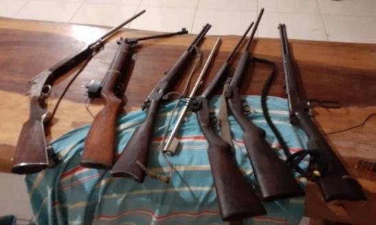 Ladrões são surpreendidos pela PM durante roubo na Fazenda Quinquin, em RO