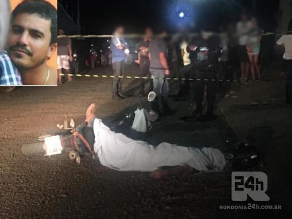 Cowboy é executado a tiros em via publica de Monte Negro, em RO