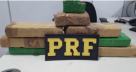 Chapeuzinho Vermelho: PRF flagra adolescente transportando 5 kg de maconha