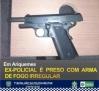 ARIQUEMES: Ex-policial é preso com arma de fogo irregular