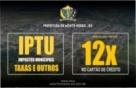 Monte Negro: Pague seu IPTU parcelado em até 12x no cartão de crédito sem juros até o dia 30/08