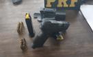 Porto Velho - PRF apreende mais uma arma de fogo