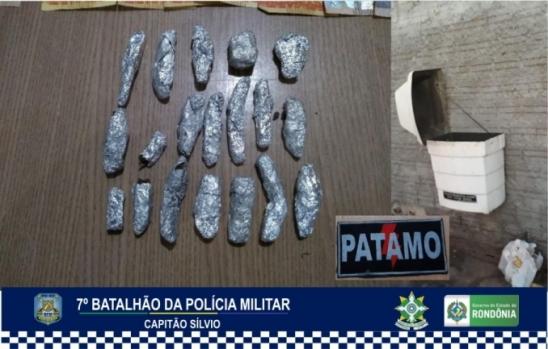 Polícia Militar desarticula grupo de tráfico de drogas em Ariquemes