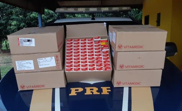 Invermectina: PRF identifica medicamento transportado de forma irregular