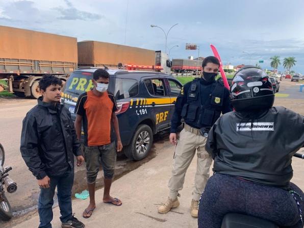 PRF localiza desaparecido e promove reencontro com família, em RO