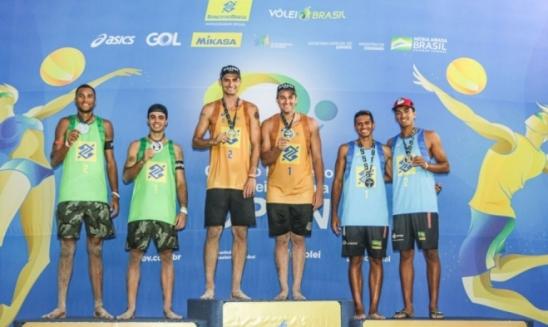 Vôlei de Praia: André e George vencem etapa de abertura de 2021